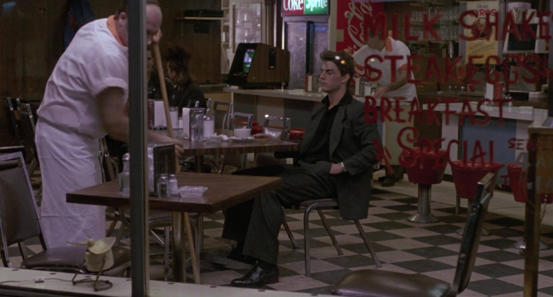 Brian eats alone following Brians death.