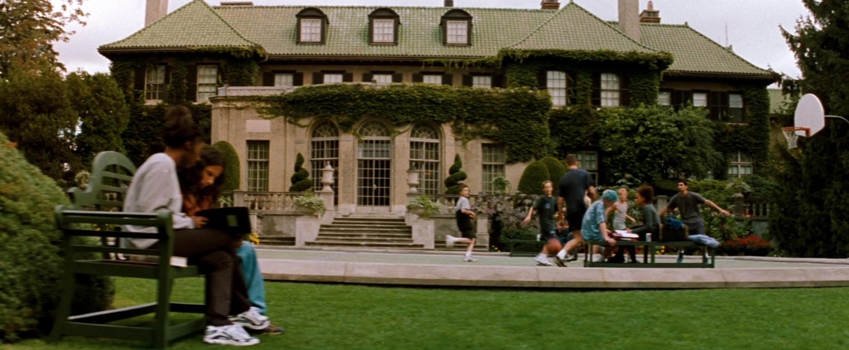 Exterior of Xavier's school.