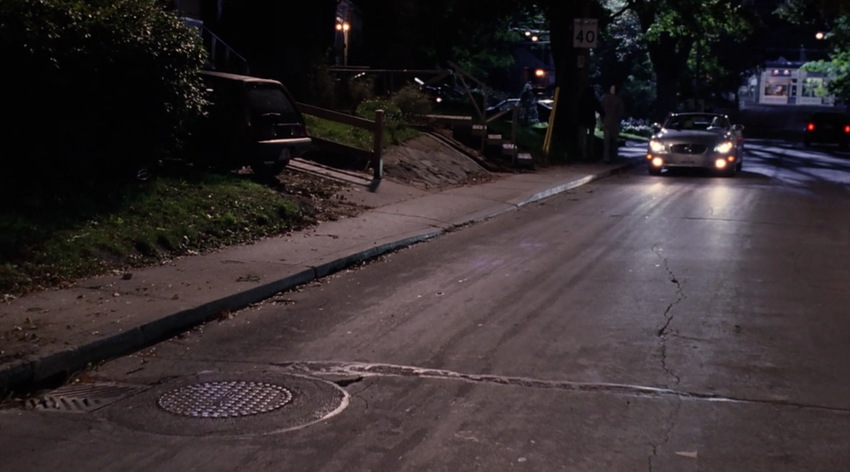 Regina pulls over while complaining to her boyfriend.
