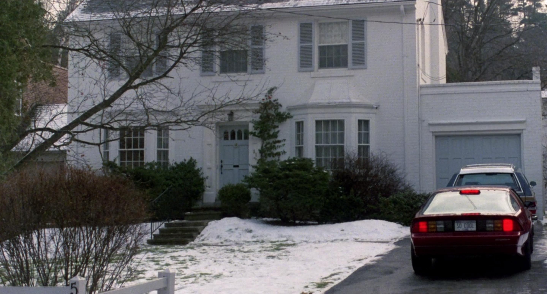 Chris Parker's house.