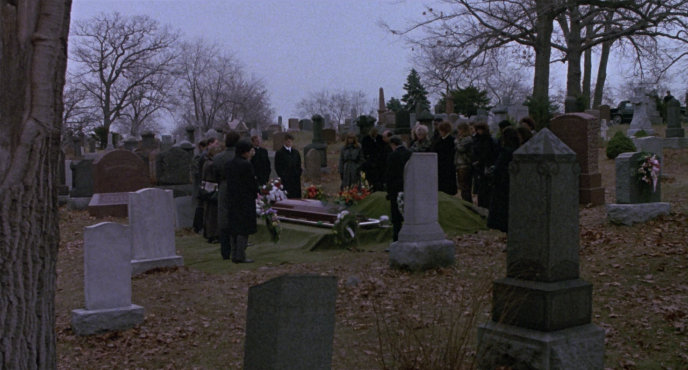 Brian attends Doug's funeral.